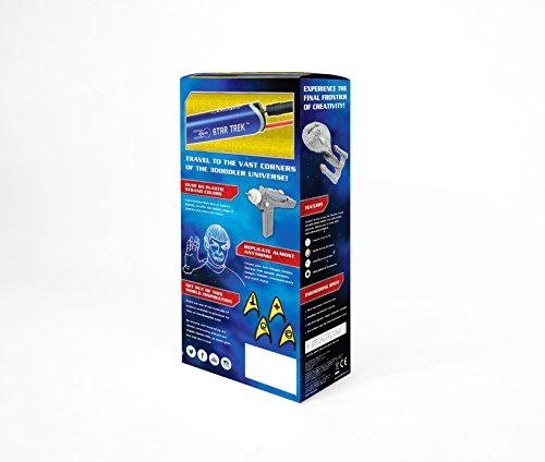 3Doodler Create Licensed Star Trek 3D Printing Pen Set with 75 Plastic Strands, Star Trek Edition (Blue)
