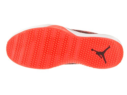 Nike Mens Air Jordan 1 Mid Basketbalschoen Nacht Kastanjebruin / Infrarood 23