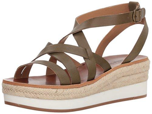Lucky Brand Women's Jenepper Sandal, Drab, 8.5 M US