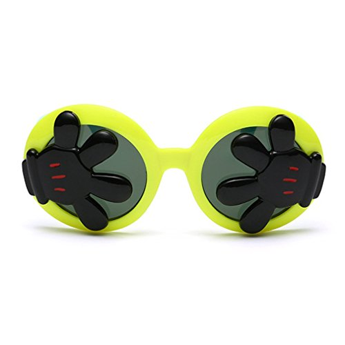 LOMOL Children's Fashion Unique Design Cute UV Protection Round Sunglasses(C1) (Sonnenbrille Iron Man)