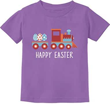 Easter Egg Hunt Kids Gift Happy Easter Train Toddler/Infant Kids T-Shirt