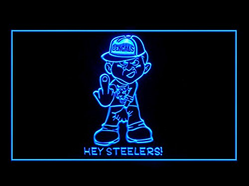 (Bengals Piss On Steelers Led Light Sign)