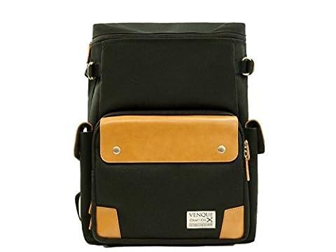 Venque Craft Co. CamPro Camera Backpack (Black) - Juicy Full Diamond