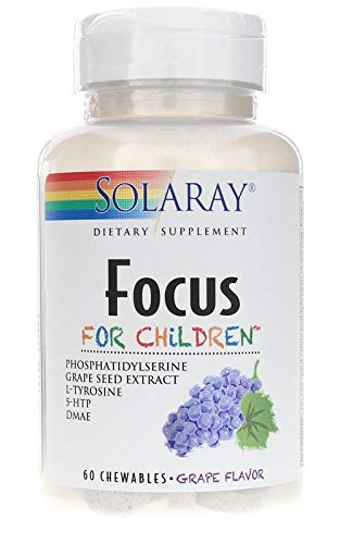 Solaray Focus For Children 60Chewy Tablets by Solaray by Solaray