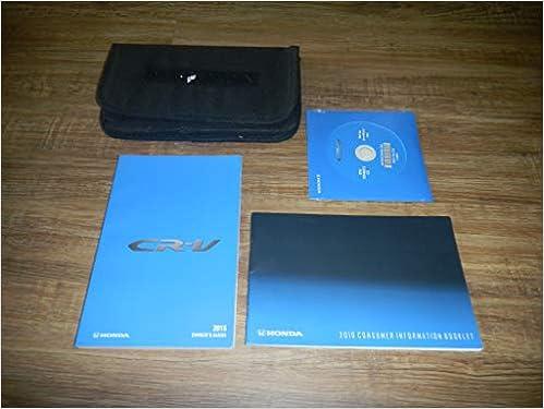 Owners Honda Com >> 2016 Honda Cr V Owner S Manual Guide Book Honda Acura