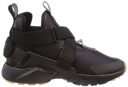 Light Black Donna Huarache Brown gum Nike Nero Grey 003 City Black Sneaker Air Dark PWg0B
