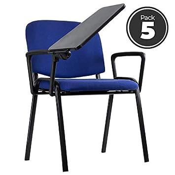 Miguel Sillas Oficina 5 Pack Pala Y Ofis Con Regalos Azules 1c3TFKlJ