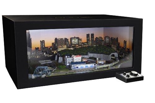 Zゲージ PROZ 東京の夜景シリーズB 新宿高層ビル群 ディスプレイBOX付 山手線7両 完全セット