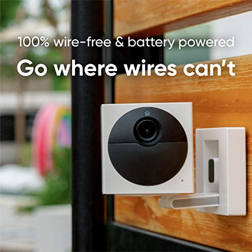 Wyze Cam Outdoor Security Camera Bundle (Includes Base Station and 3 Cams), 1080p HD Indoor/Outdoor Wire-Free Smart Home…