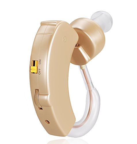 Digital Hearing Amplifier by RL Treats Personal Sound Amplification for Behind the Ear a Discreet Device that Helps Hear Clearly with Advanced Noise Cancelling Feature