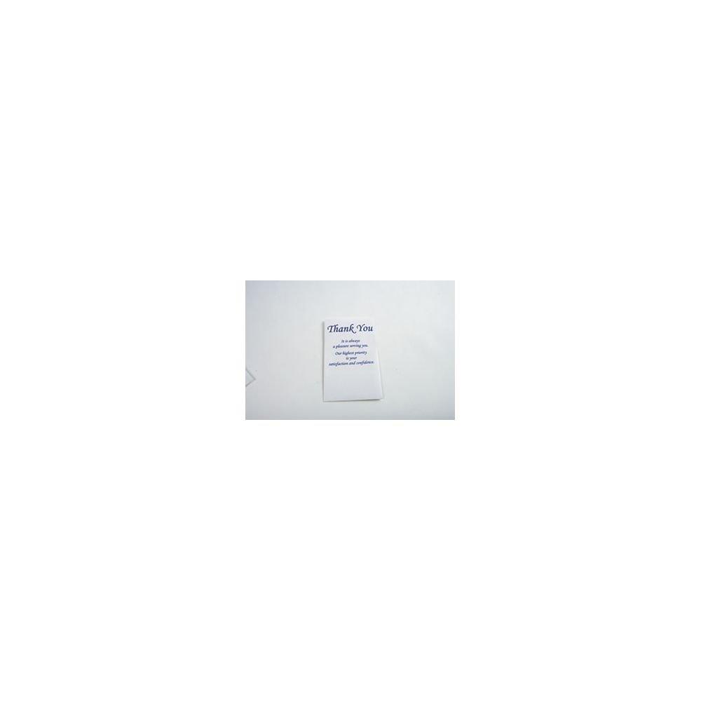 ''Thank You'' Envelopes Blue Ink Pack of 250