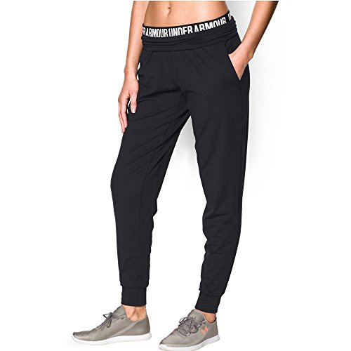 Under Armour Women's Downtown Knit Pant, Black (001), X-Small
