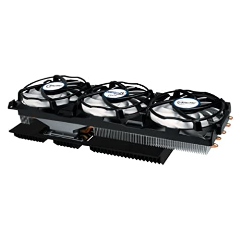 Arctic Accelero Xtreme IV 280(X) - High-End Graphics Card Cooler with Backside Cooler for Efficient (Twin Turbo Fan)