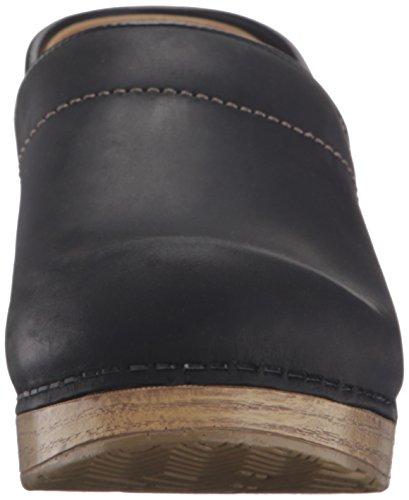 Oiled Dansko Mule Women's Black Professional Natural aTw4q1T