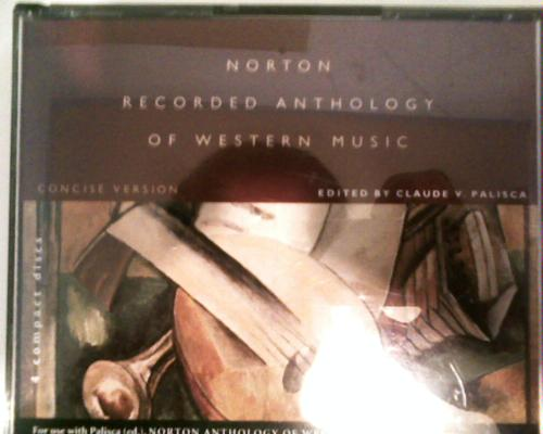 Norton Recorded Anthology of Western Music: Concise Versions pdf