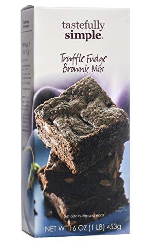 Tastefully Simple Truffle Fudge Brownie Mix (Cheese Cream Fudge)