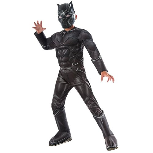 Rubie's Costume Captain America: Civil War Deluxe Black Panther Costume, Small from Rubie's