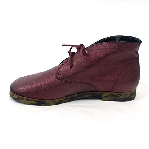 Lucky zapatos de marca de agua con conector para carga rápida para el desierto - estándar del Reino Unido 3,5, de £98 rojo - Metallic Red