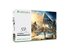 Xbox One S 500GB Console - Assassin's Creed: Origins Bundle - Bundle Edition