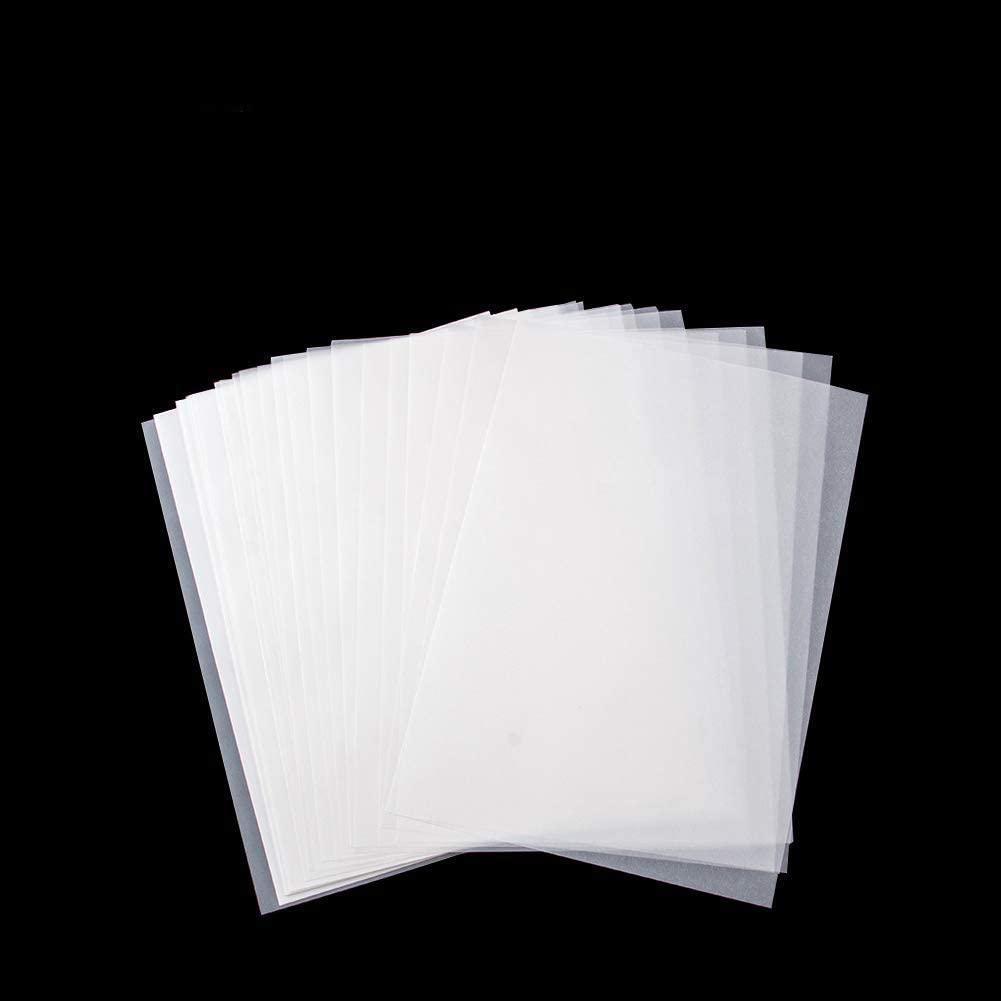 25 x A4 Translucent Vellum Tracing Paper 62gsm for Laser /& Inkjet Printers