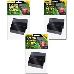 (3 Pack) Exo Terra Terrarium Cover Clip Set, Small, 2 Clips each