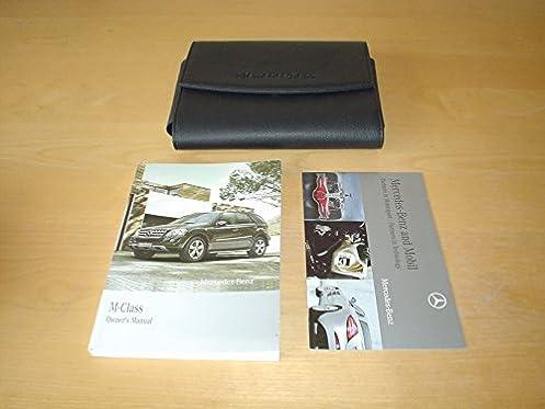 mercedes benz w164 m class facelift owners manual handbook 2007 rh amazon co uk 1999 Mercedes-Benz ML350 2006 Mercedes-Benz ML350