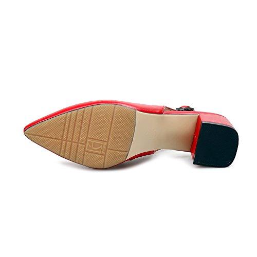 36 1TO9 Compensées Rouge Femme 5 Red Sandales wxX0fqa