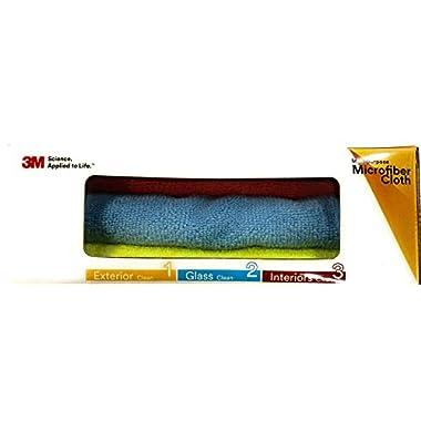 3M Car Care Microfiber Cloth (3 Pieces) 9