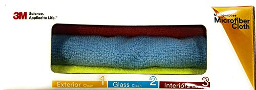 3M Car Care Microfiber Cloth (3 Pieces) 3