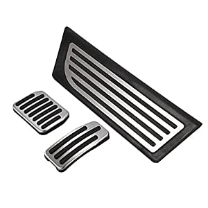 TOOGOO Aluminum Alloy Foot Pedal for Tesla Model 3 Accelerator Gas Fuel Brake Pedal Rest Pedal Pads Mats Cover Accessories Car Styling