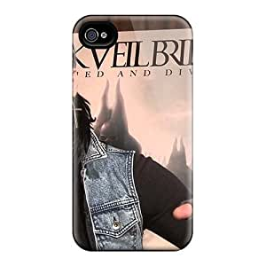 Perfect Hard Phone Cases For Iphone 4/4s (dAk16257RdmD) Provide Private Custom High-definition Black Veil Brides Band BVB Series