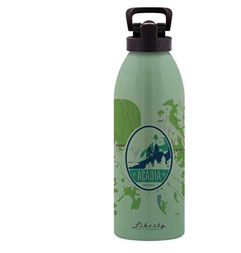 Liberty Bottleworks Topo Aluminium Wasser Flasche