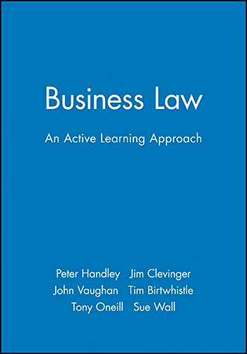 Business Law: An Active Learning Approach (Open Learning Foundation)