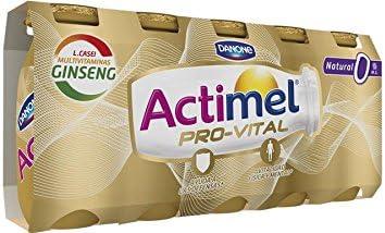 Danone Actimel Provital 0% Natural Yogur Líquido - Pack de 5 ...