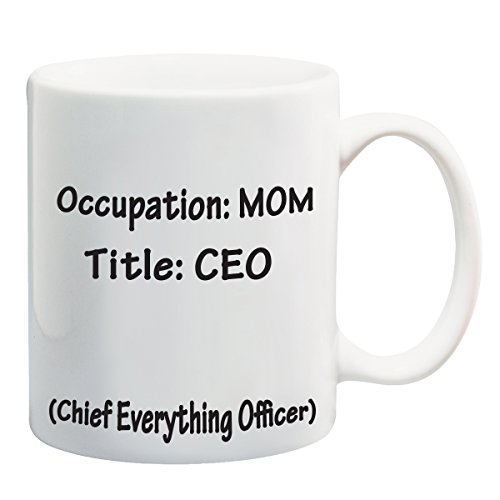 CEO Mom Coffee Mug 11oz Great Mothers Day Gift-White