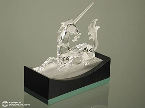 Swarovski Unicorn Fabulous Creatures Series SCS 1996 Limited Edition Crystal Figurine with Box and Certificate Mint - Crystal Unicorn