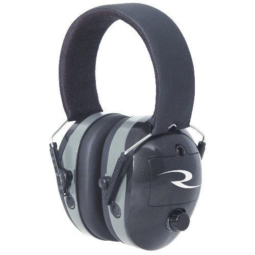 Radians Maximus Electronic Ear Protection Muffs (Black)