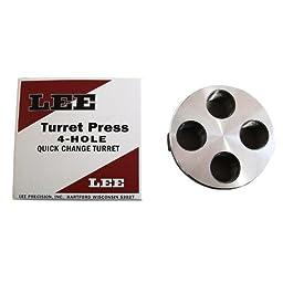 Lee Precision 4 Hole Turret (Silver)