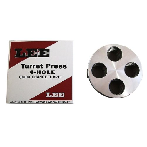 LEE PRECISION 90269 Classic 4 Hole Turret Press Turret (Best Turret Reloading Press)