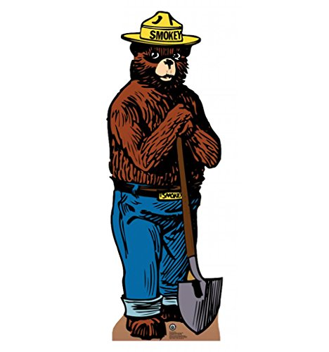 Advanced Graphics Smokey Bear Life Size Cardboard Standup from Advanced Graphics