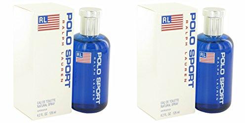 Ràlph Laurén Pôlo Spôrt Côlogne For Men 4.2 oz Eau De Toilette Spray + a FREE 2.6 oz Deodorant Stick (PACKAGE OF 2) - Polo Sport Deodorant Stick