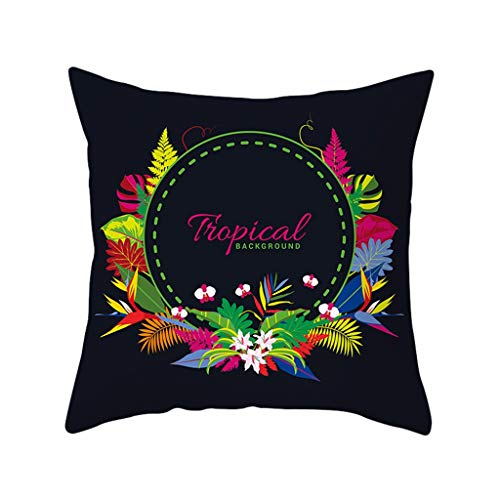 XQXCL Bedroom Decor Modern Printed Pillow Case Polyester Practical Bedding Decoration Tool Sofa Car Cushion Cover