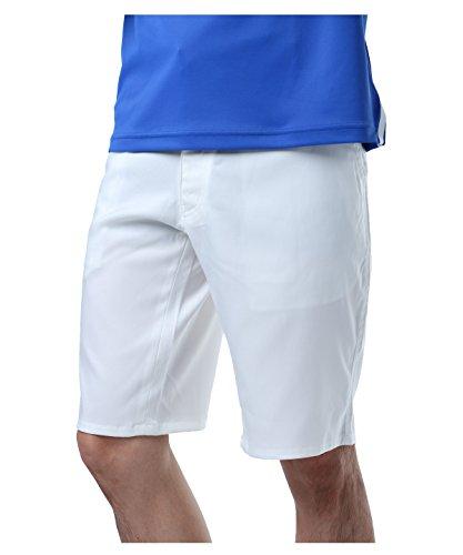 ツアーディビジョン ゴルフウェア ショートパンツ ベーシック TD220109H03 WH L