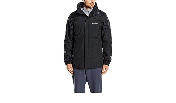 Amazon.com: Columbia Mission Air Interchange Jacket Small Black Black: Sports & Outdoors