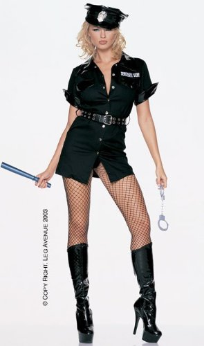 Sergeant Sexy Adult Costume - Medium/Large