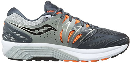 Saucony Herren Ouragan Iso 2 Trainingsschuhe Mehrfarbig - Multicolore (gris / Charbon / Ou Pa)