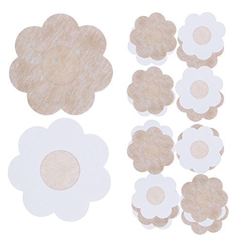 How Long to Read JESWELL Disposable Nipple Covers Bra Petal ... 96adeb34e
