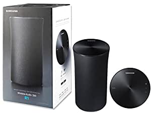 Samsung Radiant 360 R1 Wi-Fi Bluetooth Wireless Multi-Room 2-Way Streaming Speakers -W MKK Stylus Pen (Certified Refurbished)