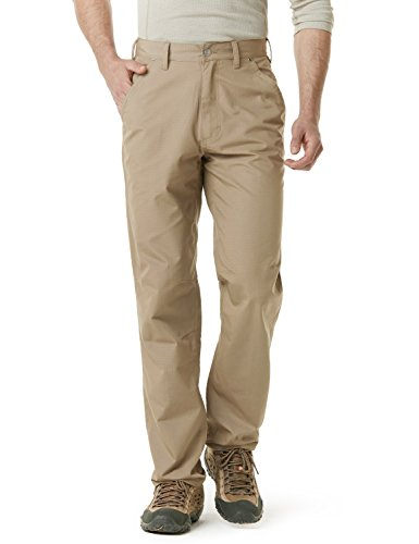 CQR CQ-TWP301-KHK_32W/32L Men's Rip-Stop Tactical Work Utility Operator Pants EDC ()