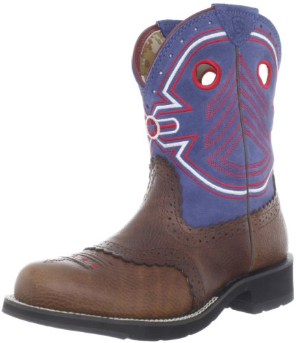 Ariat Women's Fatbaby Freedom Boot,Dark Rowdy/Blue,5.5 B - Freedom Tall Boot